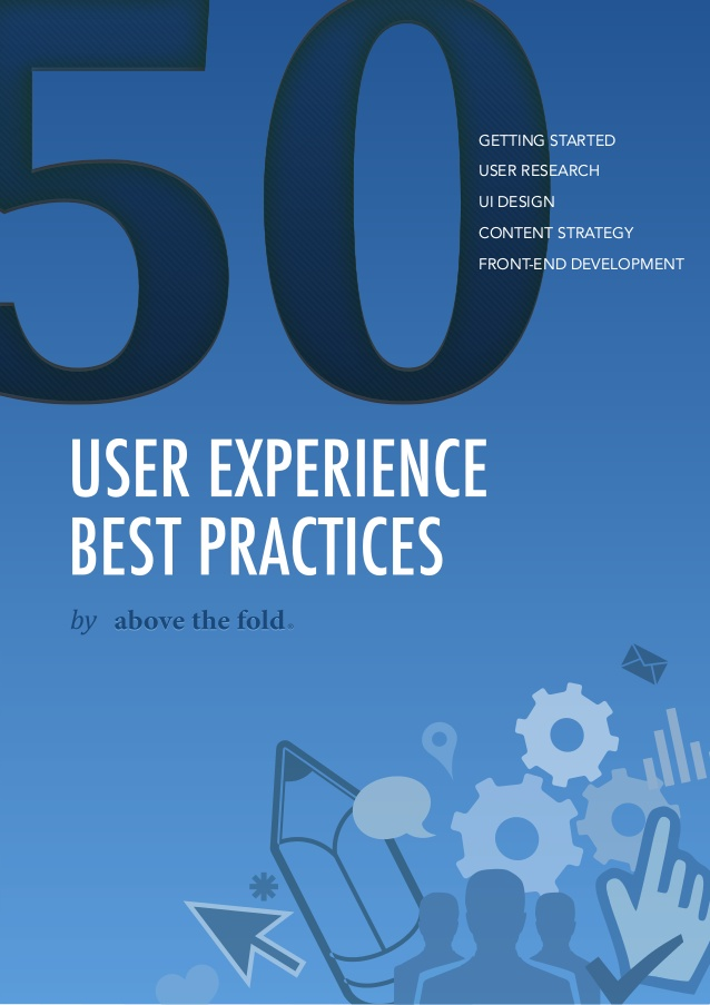 Free ebook: 50 User Experience Best Practices