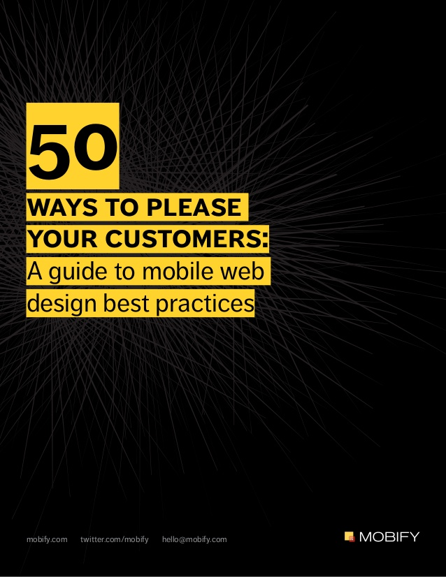 Free ebook: 50 Ways To Please Your Customers