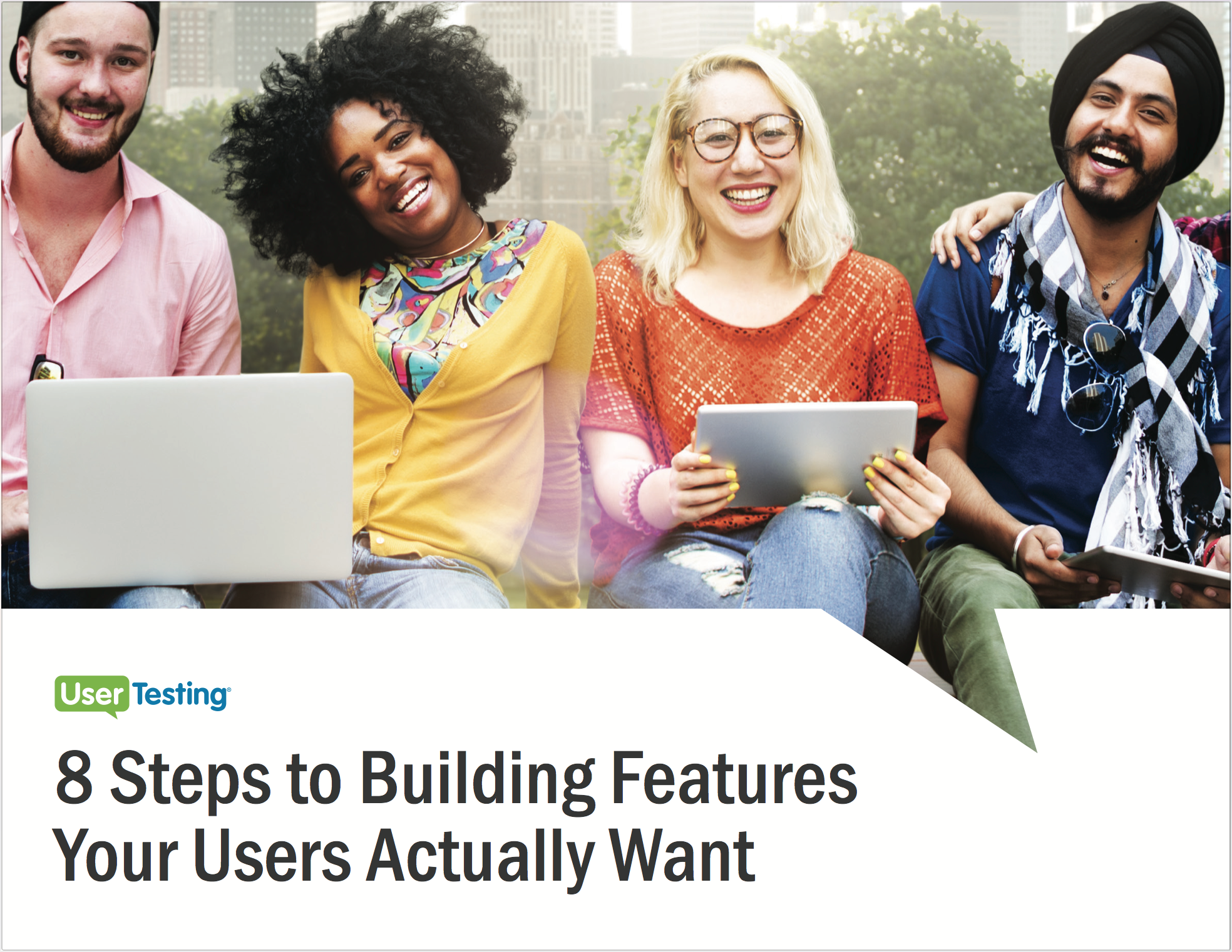 Free ebook: 8 Steps to Building Features Your Users Actually Want