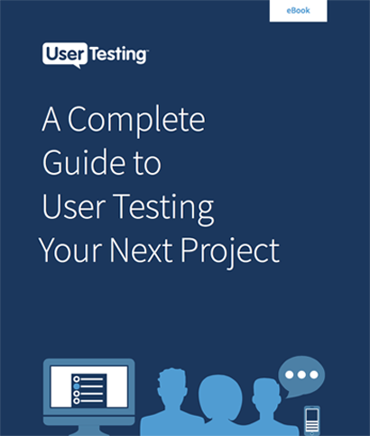 Free ebook: A Complete Guide to User Testing Your Next Project