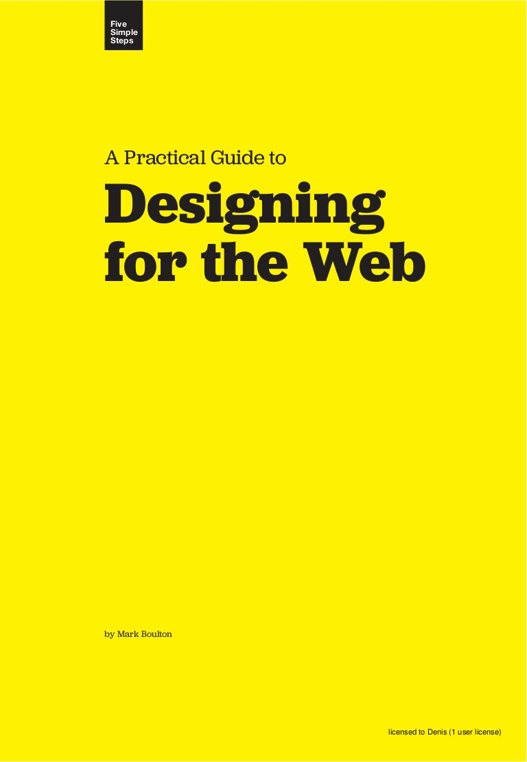 Free ebook: A Practical Guide to Designing for the Web