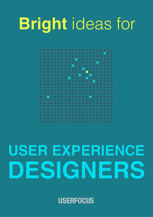 Free ebook: Bright ideas for user experience designers