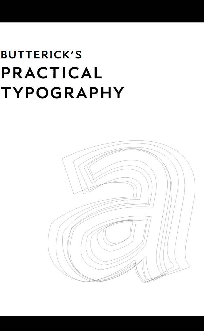 Free ebook: Practical Typography