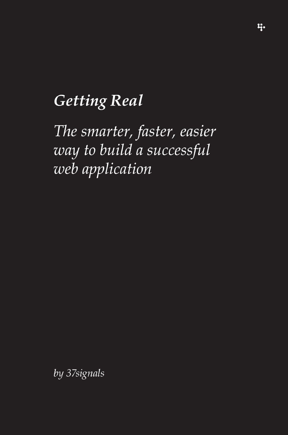 Free ebook: Getting Real