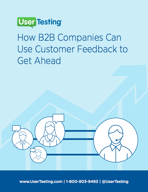 Free ebook: How B2B Companies Can Use Customer Feedback to Get Ahead