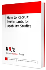 Free ebook: How to Recruit Participants for Usability Studies