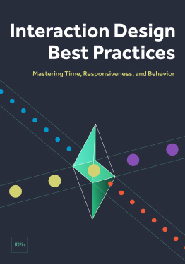Free ebook: Interaction Design Best Practices: Mastering Time, Responsiveness & Behaviour