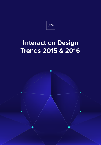 Free ebook: Interaction Design Trends 2015 & 2016