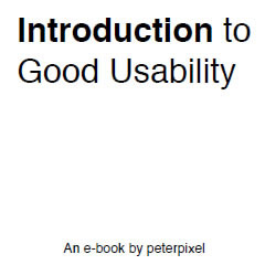 Free ebook: Introduction to Good Usability
