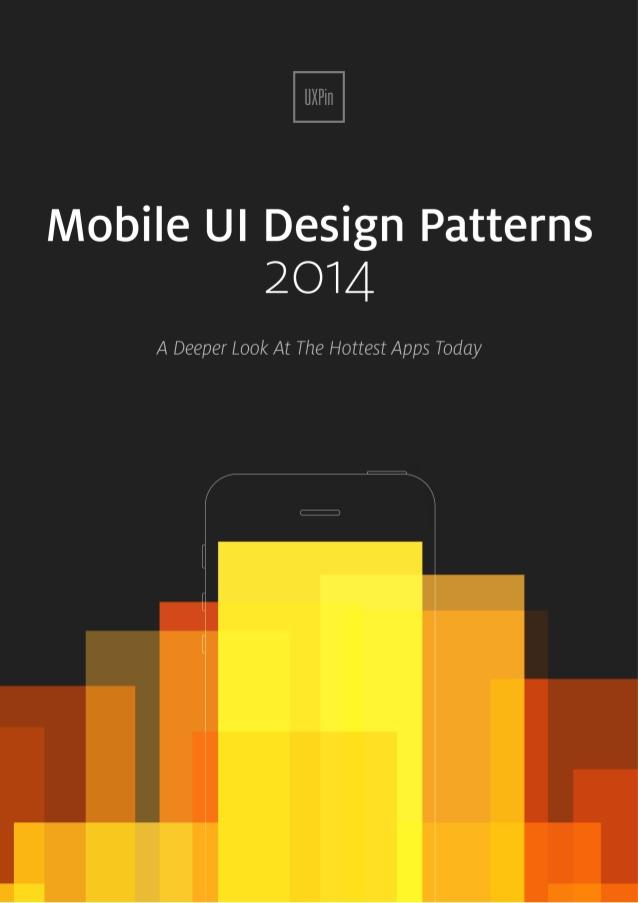 Free ebook: Mobile UI Design Patterns