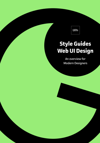 Free ebook: Style Guides for Web UI Design