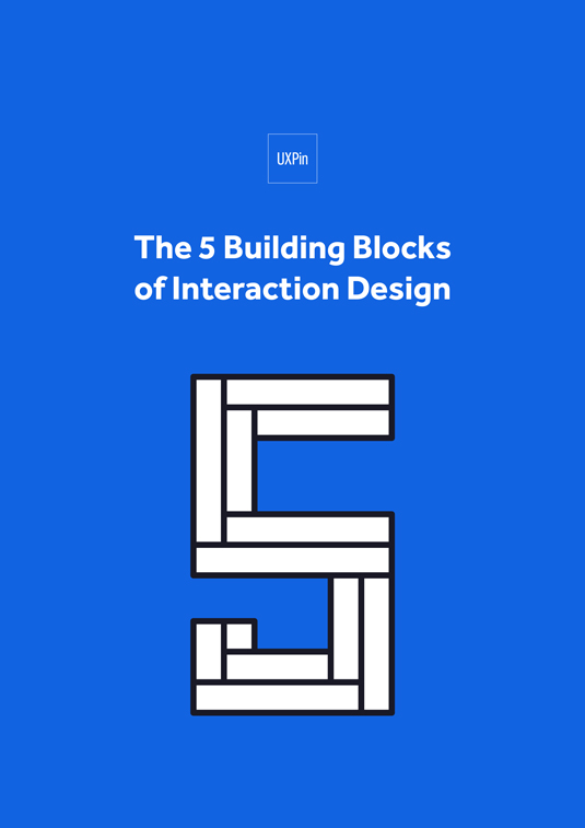 Free ebook: The 5 Building Blocks of Interaction Design