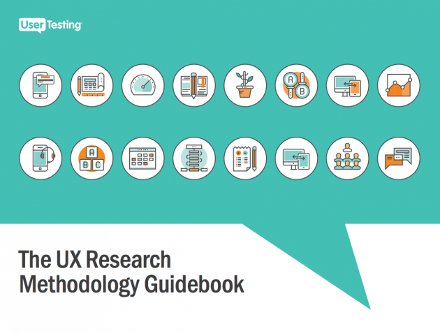Free ebook: The UX Research Methodology Guidebook