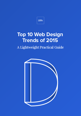 Free ebook: Top 10 Web Design Trends of 2015