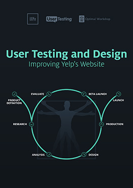 Free ebook: User Testing and Design Improving Yelp's Website