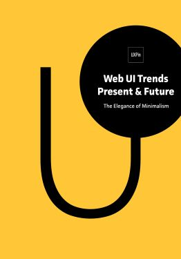 Free ebook: Web UI Trends Present & Future: The Elegance of Minimalism