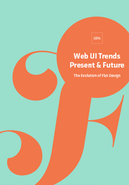 Free ebook: Web UI Trends Present & Future: The Evolution of Flat Design