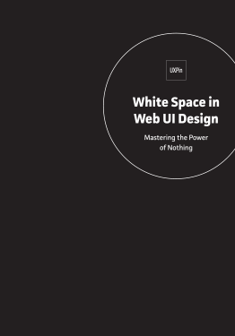 Free ebook: White Space in Web UI Design