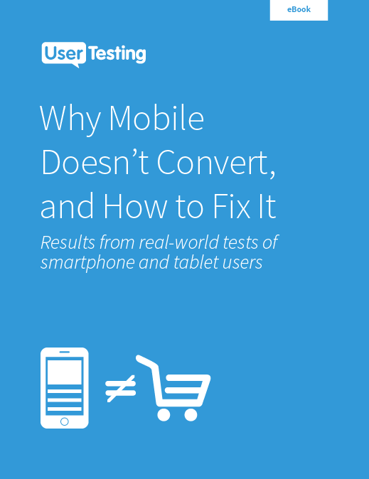 Free ebook: Why Mobile Doesn't Convert, and How to Fix It