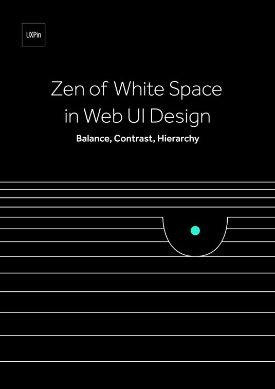 Free ebook: Zen of White Space in Web UI Design