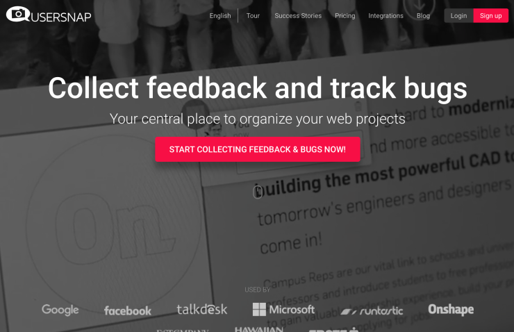 Usersnap - Tool to Collect and Track Customer Feedback on Your Website
