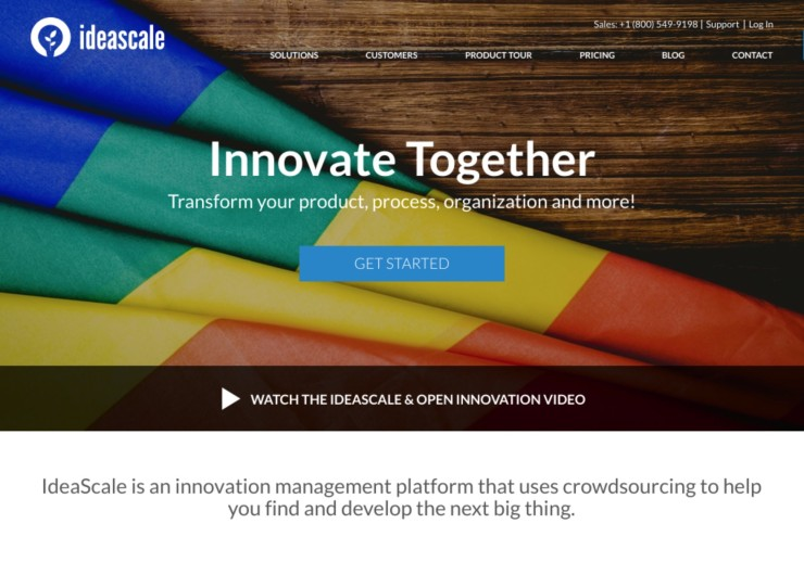 IdeaScale - Tool to Collect and Track Customer Feedback on Your Website