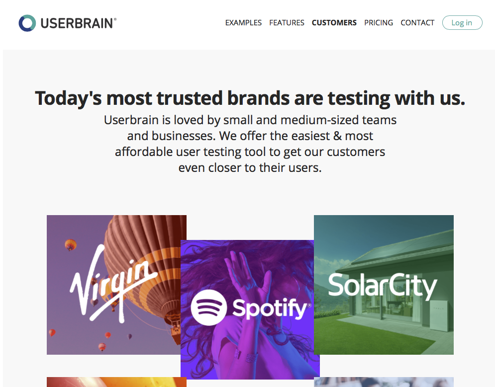 Userbrain - Tool to Collect and Track Customer Feedback on Your Website