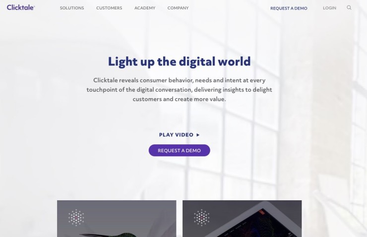 Clicktale - Tool to Collect and Track Customer Feedback on Your Website