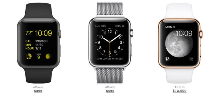 Decoy Pricing from the Apple Watch